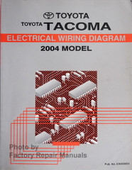 Toyota Tacoma Electrical Wiring Diagram 2004 Model