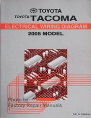 Toyota Tacoma Electrical Wiring Diagram 2005 Model