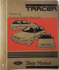 1987 1988 Mercury Tracer Shop Manual
