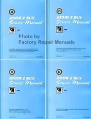 2008 Saturn View Service Manual Volume 1, 2, 3, 4