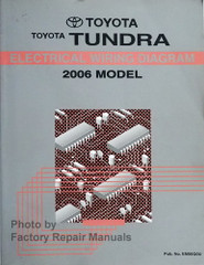 2006 Toyota Tundra Electrical Wiring Diagrams