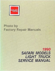 1990 GMC Safari Van Models Service Manual