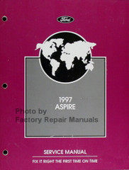 1997 Ford Aspire Service Manual
