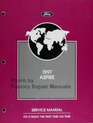 1997 Ford Aspire Service Manual