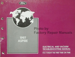 1997 Ford Aspire Electrical & Vacuum Troubleshooting Manual