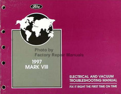 1997 Lincoln Mark VIII Electrical and Vacuum Troubleshooting Manual