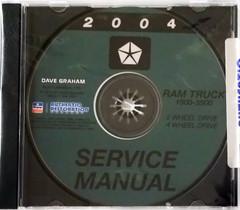 2004 Dodge Ram Truck Service Information 1500 2500 3500