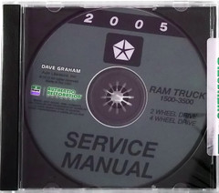2005 Service Information DR Dodge Ram Truck 1500/2500/3500