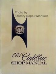 1971 Cadillac Shop Manual