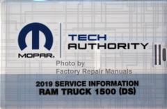2019 Ram Truck 1500 DS Mopar Service Information