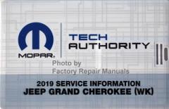 2019 Jeep Grand Cherokee Mopar Service Information