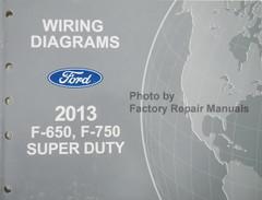 Wiring Diagrams Ford 2013 F-650, F-750 Super Duty