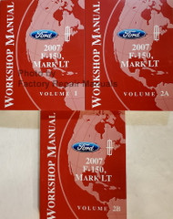 Ford Lincoln 2007 F-150, Mark LT Workshop Manual Volume 1 and 2