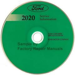 Ford 2020 Service Information EcoSport