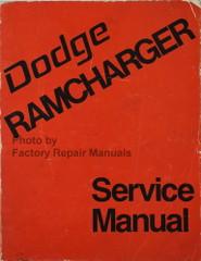 1974 Dodge Ramcharger Service Manual
