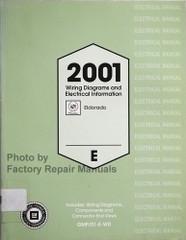 2001 Cadillac Eldorado Wiring Diagrams and Electrical Information Manual