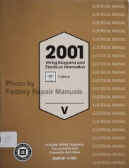 2001 Cadillac Catera Wiring Diagrams and Electrical Information Manual