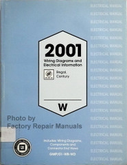 2001 Buick Century and Regal Wiring Diagrams and Electrical Information Manual