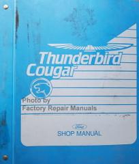 1989 Thunderbird Cougar Shop Manual