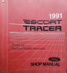 1991 Ford Escort Mercury Tracer Shop Manual