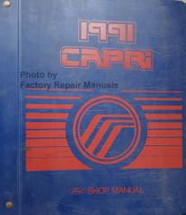 1991 Mercury Capri Shop Manual