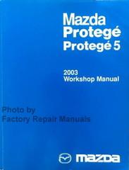 2003 Mazda Protege / Protege 5 Workshop Manual