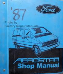 1987 Ford Aerostar Shop Manual