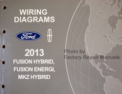 2013 Ford Fusion Energi Lincoln MKZ Hybrid Electrical Wiring Diagrams