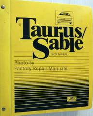1986 Ford Taurus Mercury Sable Shop Manual