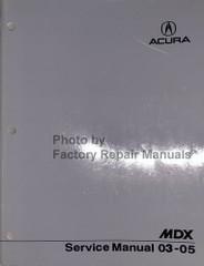 2003-2005 Acura MDX Service Manual