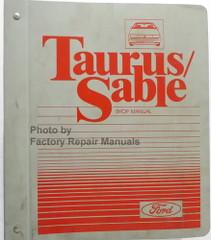1987 Ford Taurus Mercury Sable Shop Manual