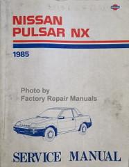 1985 Nissan Pulsar NX Service Manual