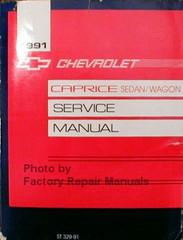 1991 Chevrolet Caprice Wagon Service Manual