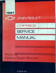 1991 Chevrolet Caprice Sedan Service Manual