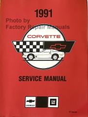 1991 Chevrolet Corvette Service Manual