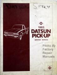 1982 Datsun Pick-up Service Manual