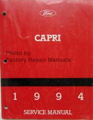 1994 Capri Service Manual