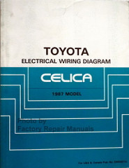 1987 Toyota Celica Electrical Wiring Diagrams