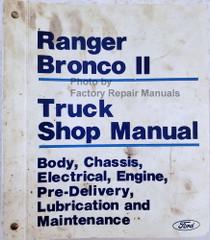 1986 Ford Truck Shop Manual Ranger / Bronco II