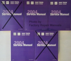 2004 Chevrolet Kodiak GMC Topkick Service Manuals Incomplete
