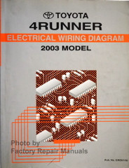 2003 Toyota 4Runner Electrical Wiring Diagrams