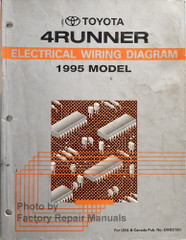 Toyota 4Runner Electrical Wiring Diagram 1995 Model