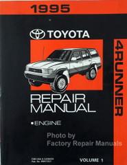 1995 Toyota 4Runner Repair Manual Volume 1