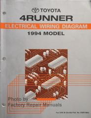 Toyota 4Runner Electrical Wiring Diagram 1994 Model