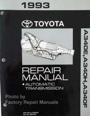 1993 Toyota A340E, A340F, A340H Repair Manual Automatic Transmission