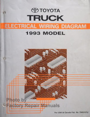 1993 Toyota Pickup Truck Electrical Wiring Diagrams