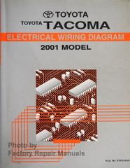 2001 Toyota Tacoma Electrical Wiring Diagrams