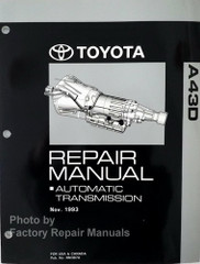Toyota A43D Automatic Transmission Repair Manual