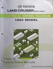 1993 Toyota Land Cruiser Electrical Wiring Diagrams