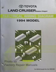 1994 Toyota Land Cruiser Electrical Wiring Diagrams